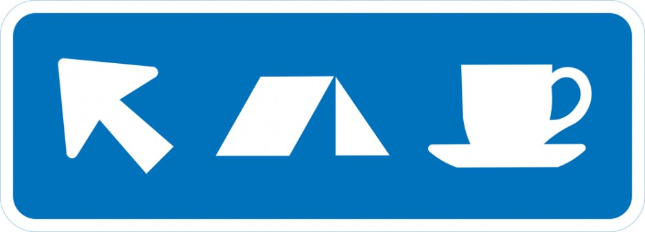 Service Sign - Position / Arrow (Two Services)