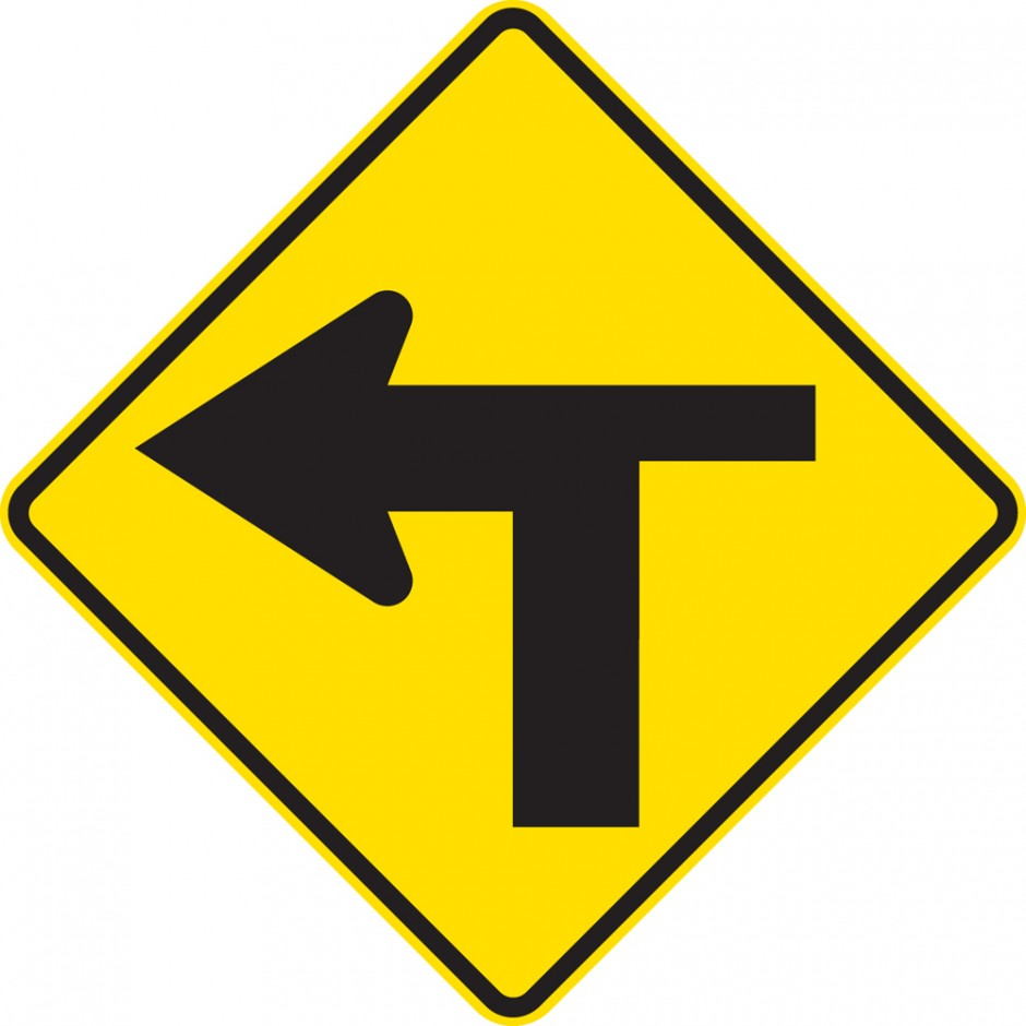 T-Junction  Controlled Left