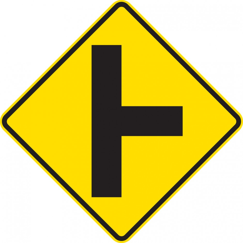 Side Road Junction Uncontrolled - Right