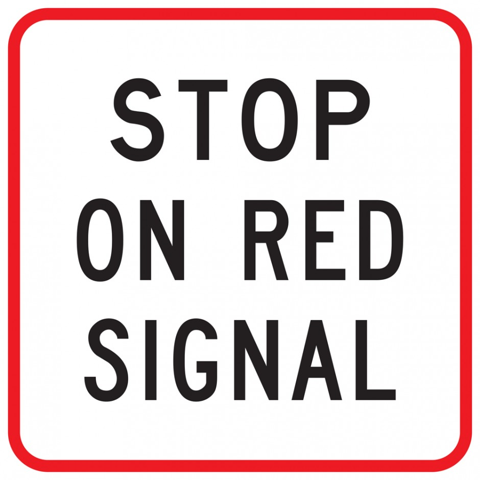 Stop On Red Signal