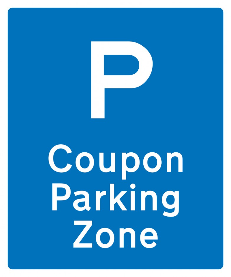 Coupon Parking Zone - Repeater