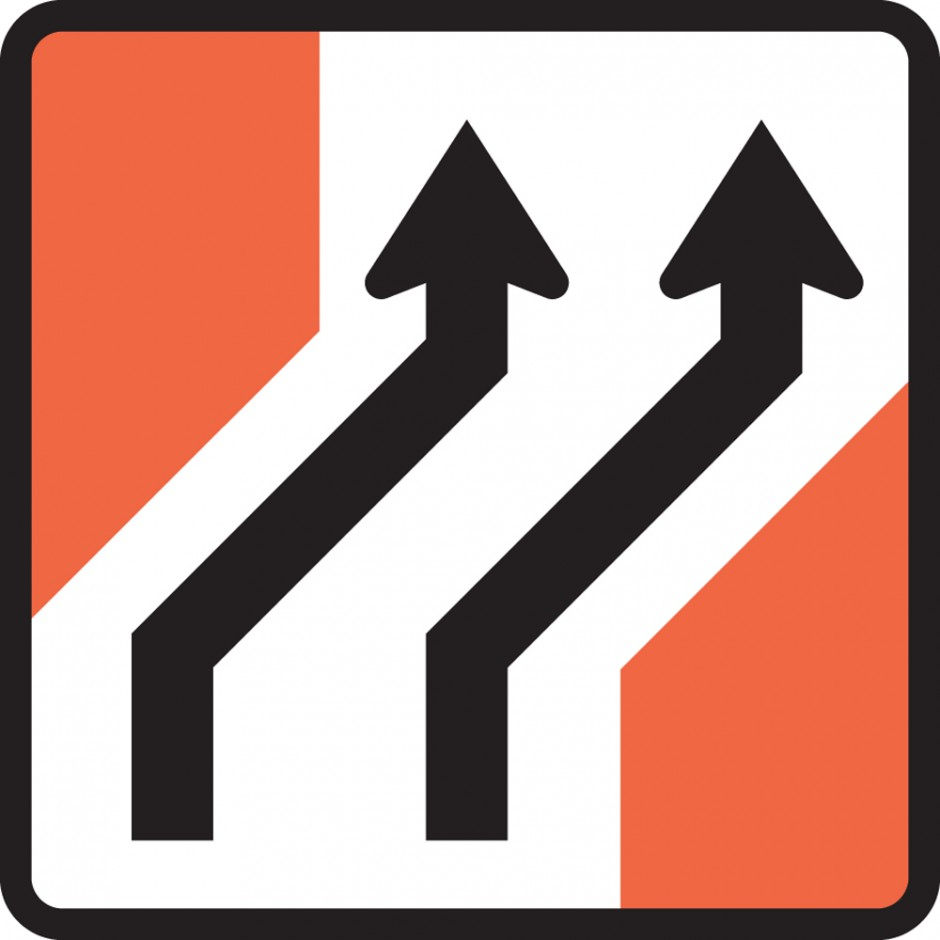 Two Lane One Way Road (right)