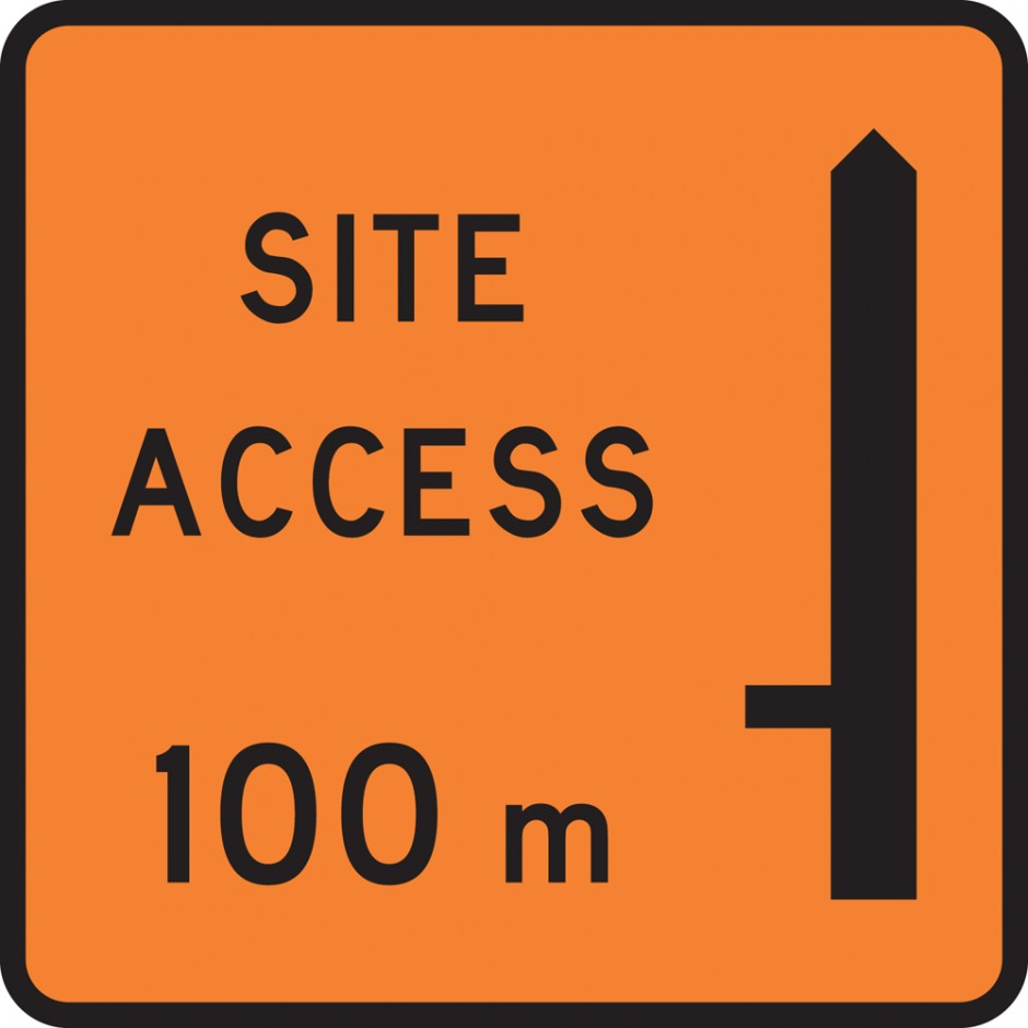 "Site Access ""_""00m - Left"