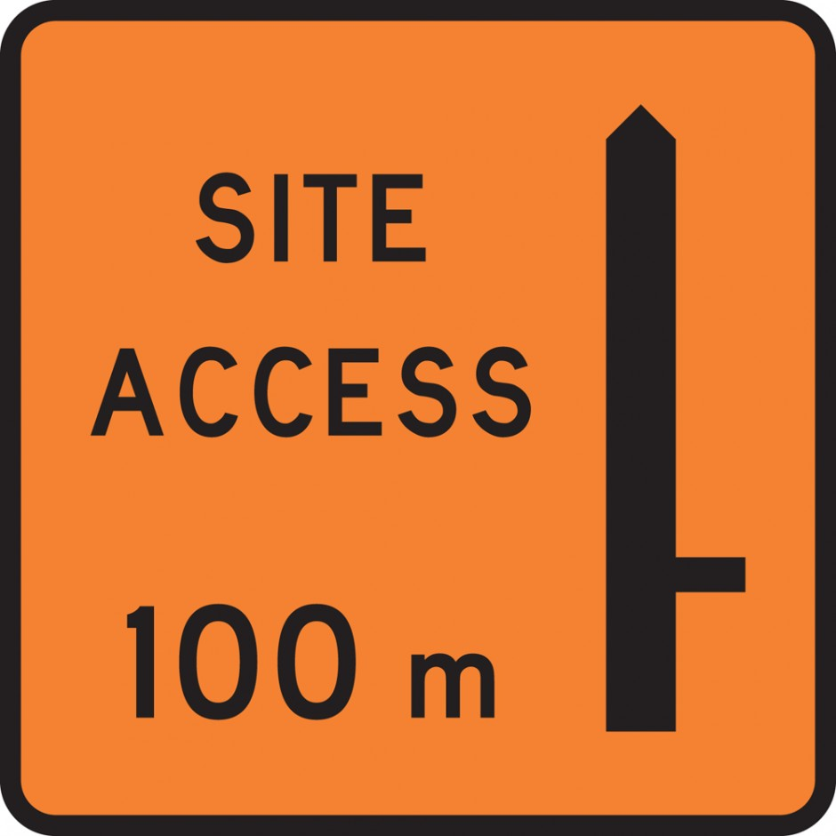 "Site Access ""_""00m - Right"