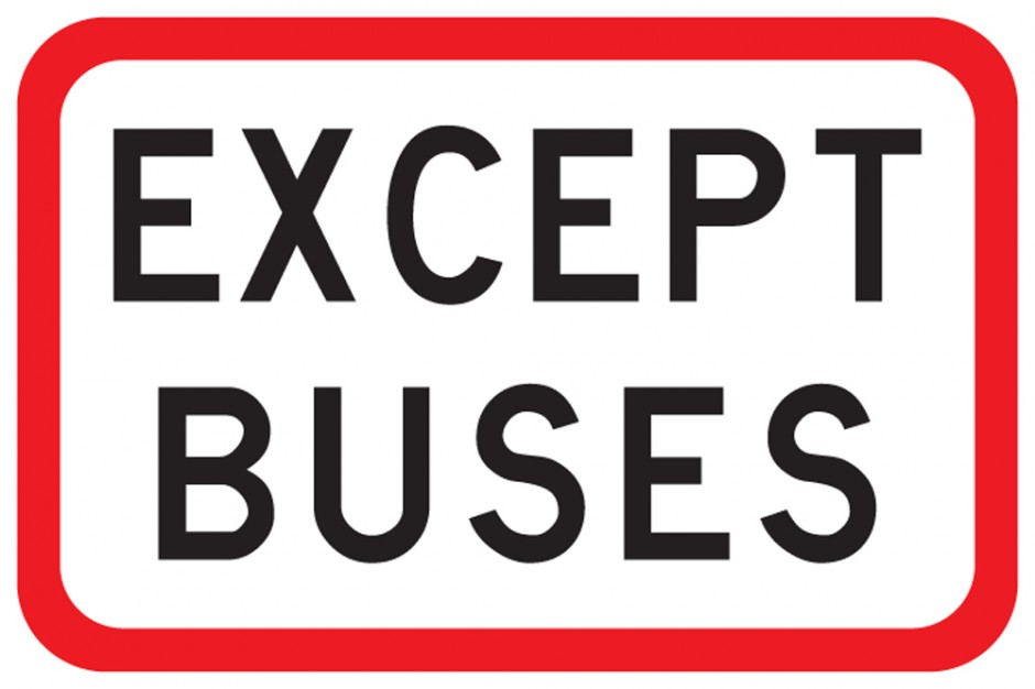 Except Buses Supplementary