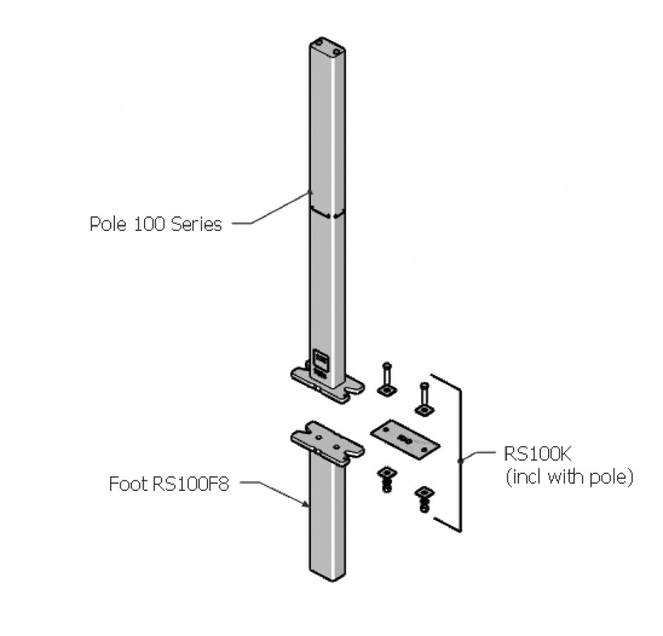 Necklen Poles - 100 Series