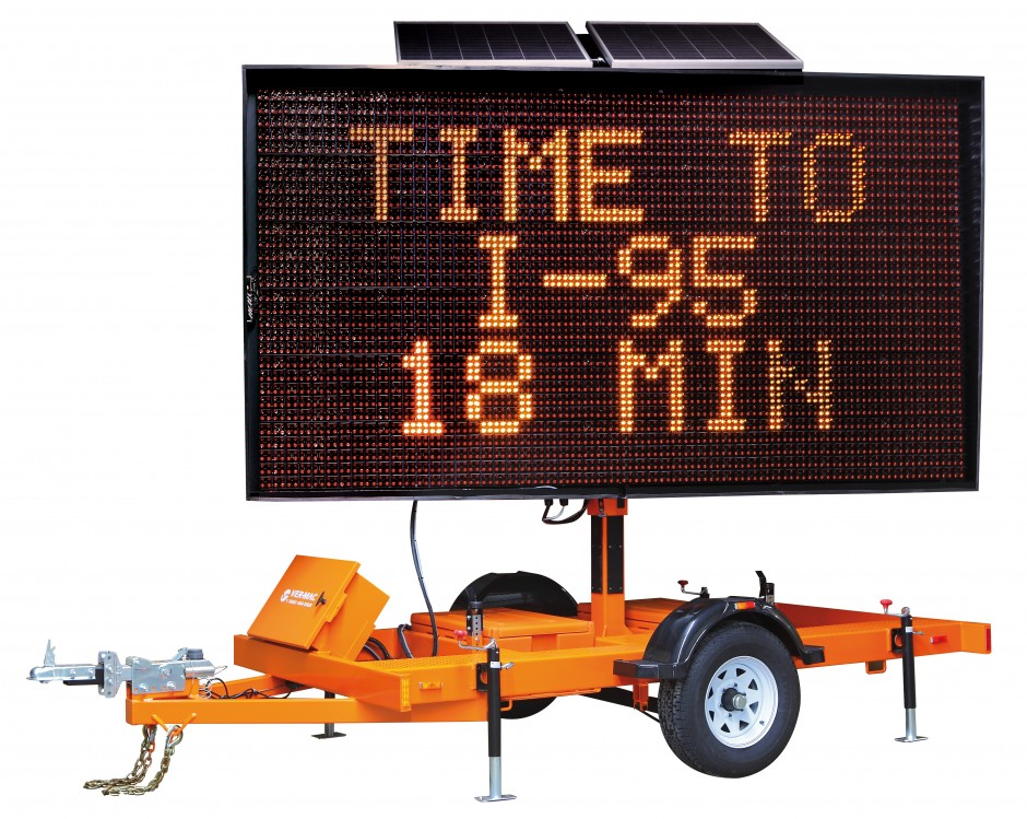Mobile Variable Message Sign (MVMS)  LARGE