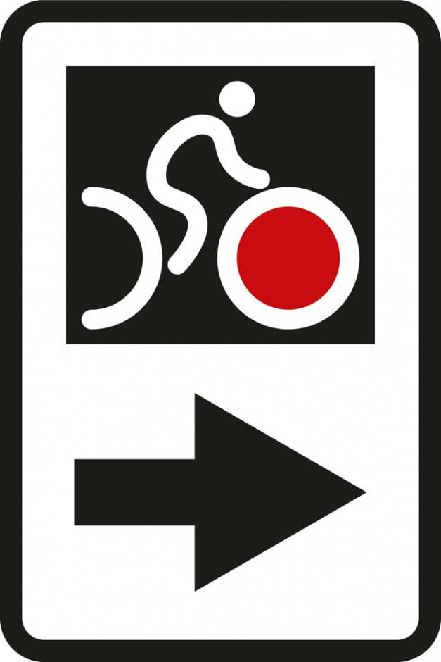 NZ Cycle Trail (NZCT) Route Arrow