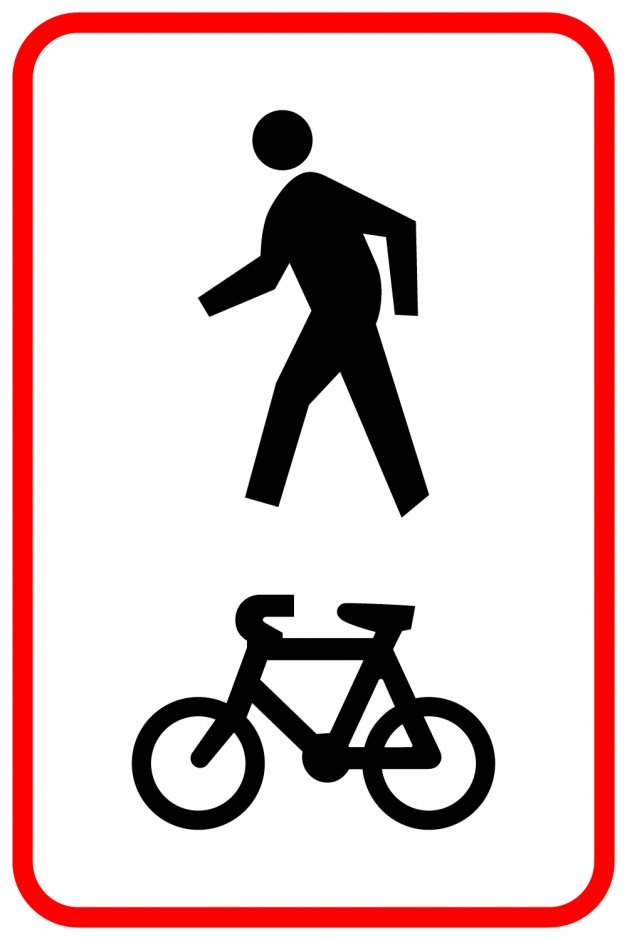 Shared Pedestrian and Cycle Path