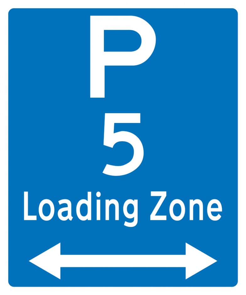 Loading Zone (with Arrows)