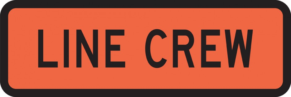 Line Crew (Roll up Signs)