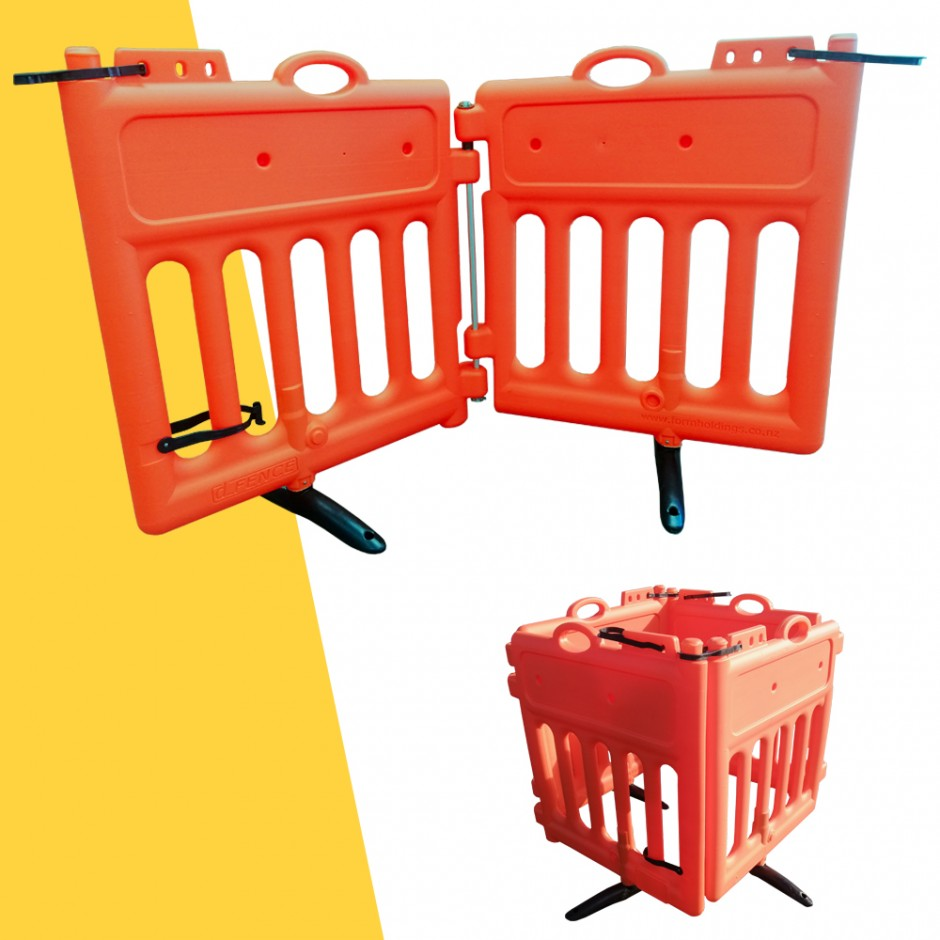 D-Fence Pedestrian Safety Fences (Hinged)