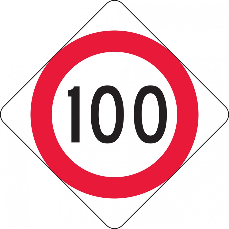 Speed Restriction Level 1 (MKL) - 100km