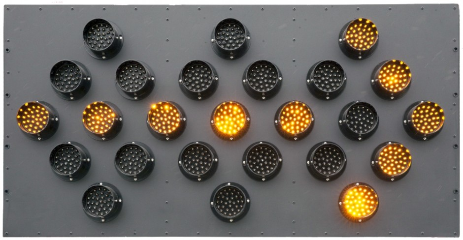 25 Light LED Arrow Board