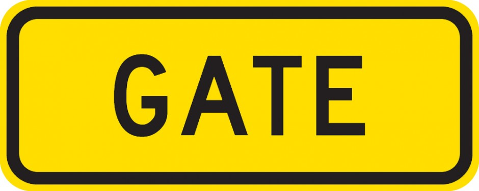 Other Hazard - Gate