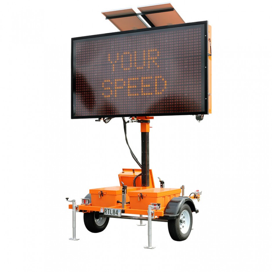 Mobile Variable Message Sign (MVMS) MEDIUM