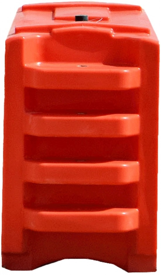 Lo-Ro Water Cable Barrier TL-2 - Orange